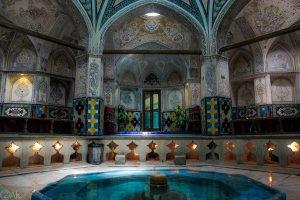 عکس حمام سلطان امیر احمد