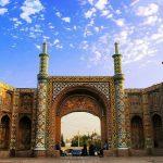 عکس دروازه کوشک قزوین