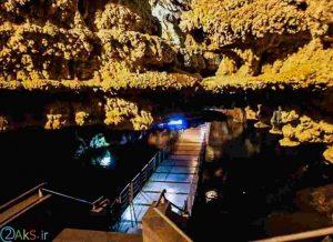 عکس غار علی صدر