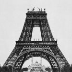 عکس قدیمی برج ایفل