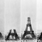 عکس مراحل ساخت برج ایفل