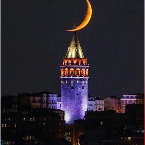 عکس های برج گالاتا