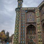 عکس های دروازه کوشک قزوین