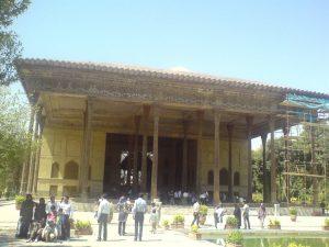 عکس کاخ چهل ستون
