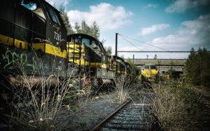والپیپر قطار