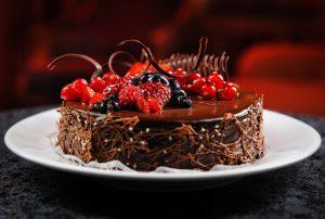 والپیپر کیک توت فرنگی