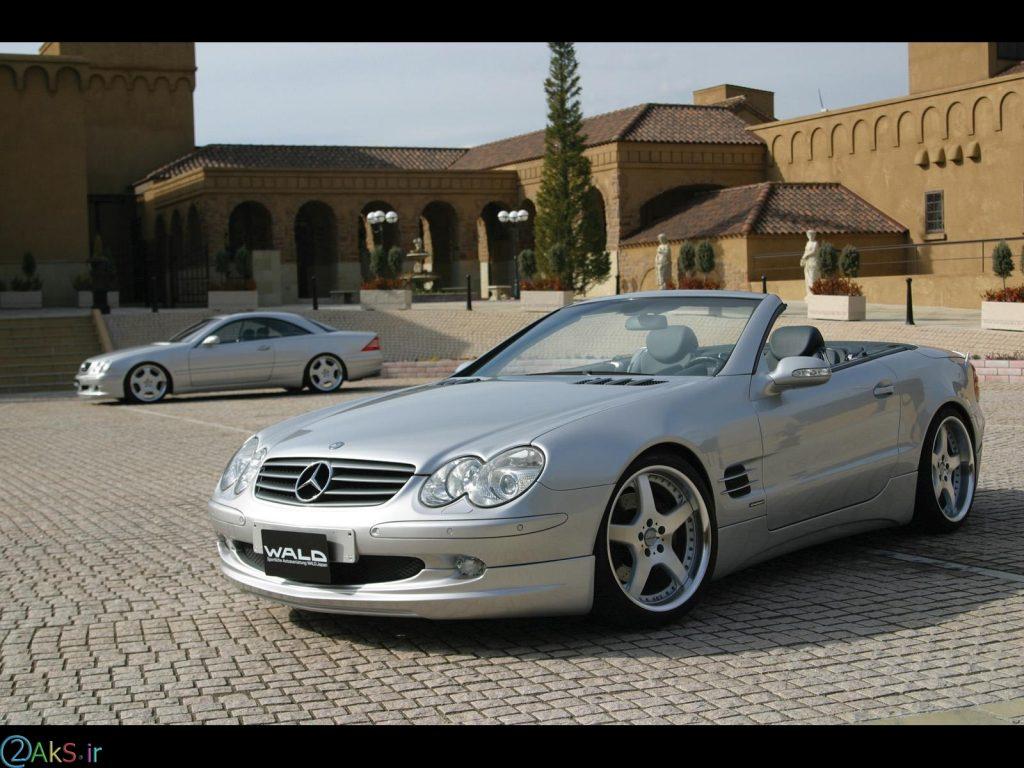 تصویر Bercedes Benz SL500