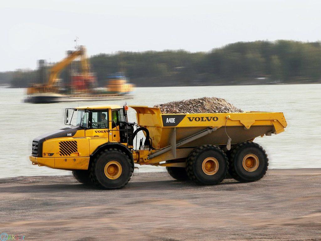دانلود عکس Volvo A40