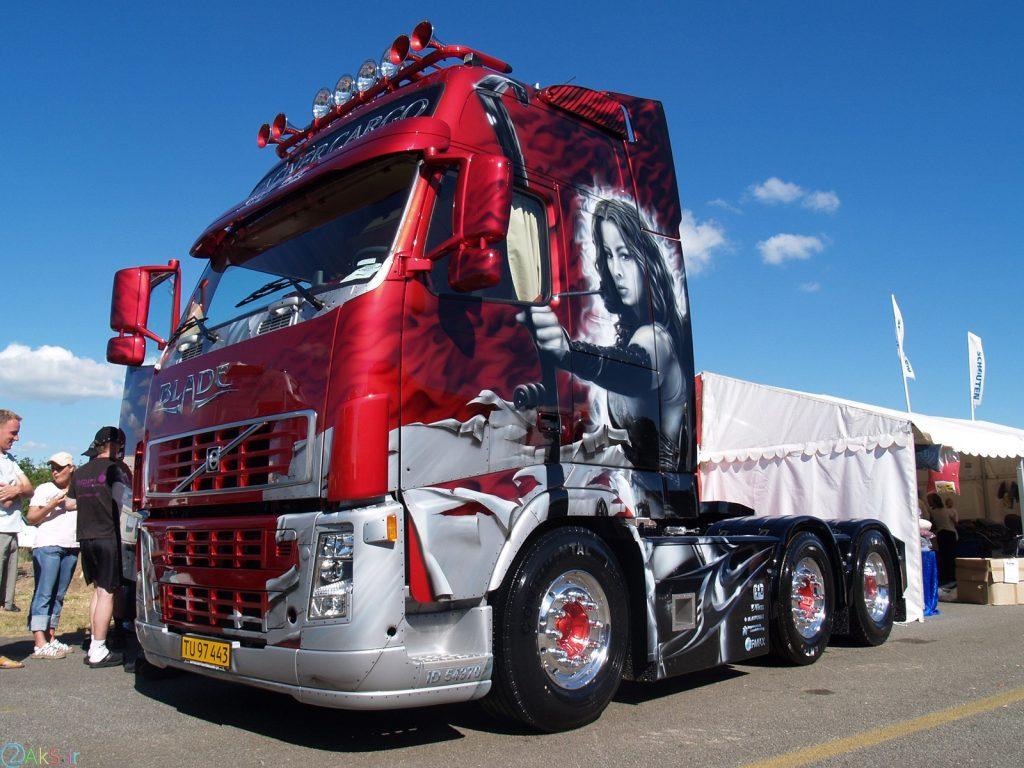 عکس Volvo FH12