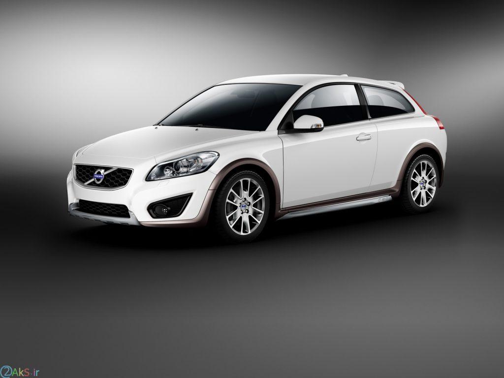 Volvo C30 سفید