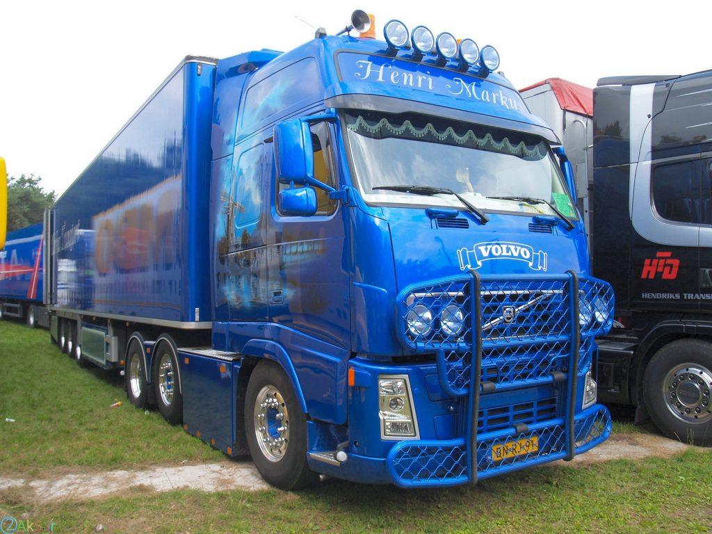 Volvo FH12 آبی