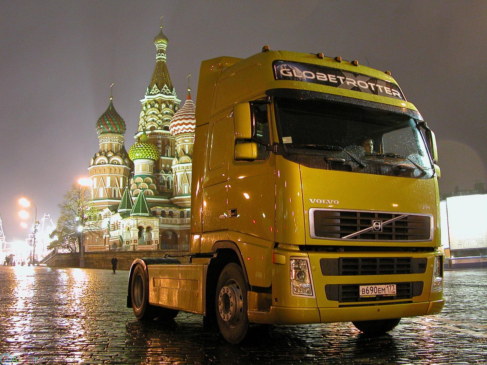 Volvo FH12 زرد