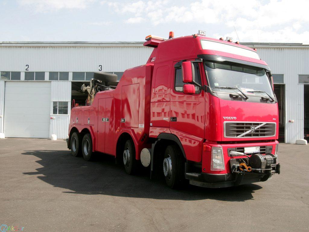Volvo FH12 قرمز