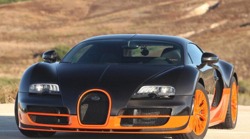 بوگاتی Veyron زیبا