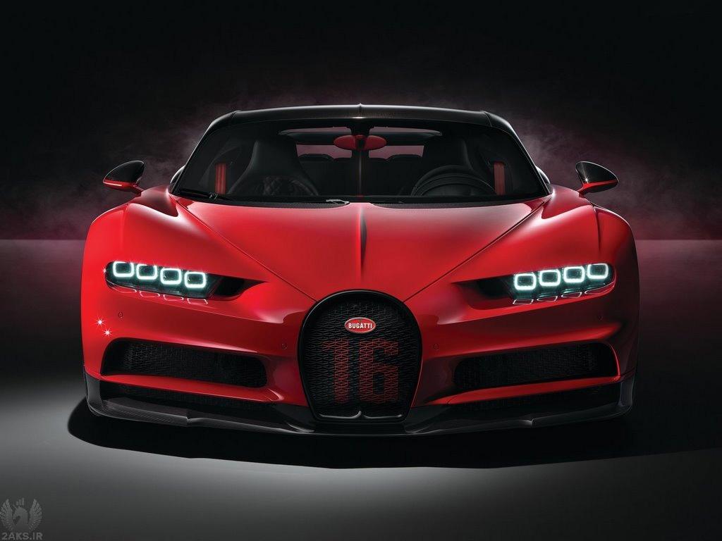 تصاویر Bugatti Chiron