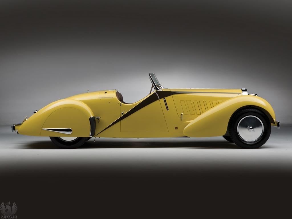 تصاویر Bugatti Type 57