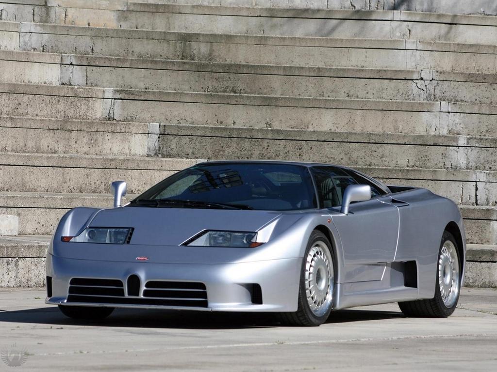 تصویر Bugatti EB 110