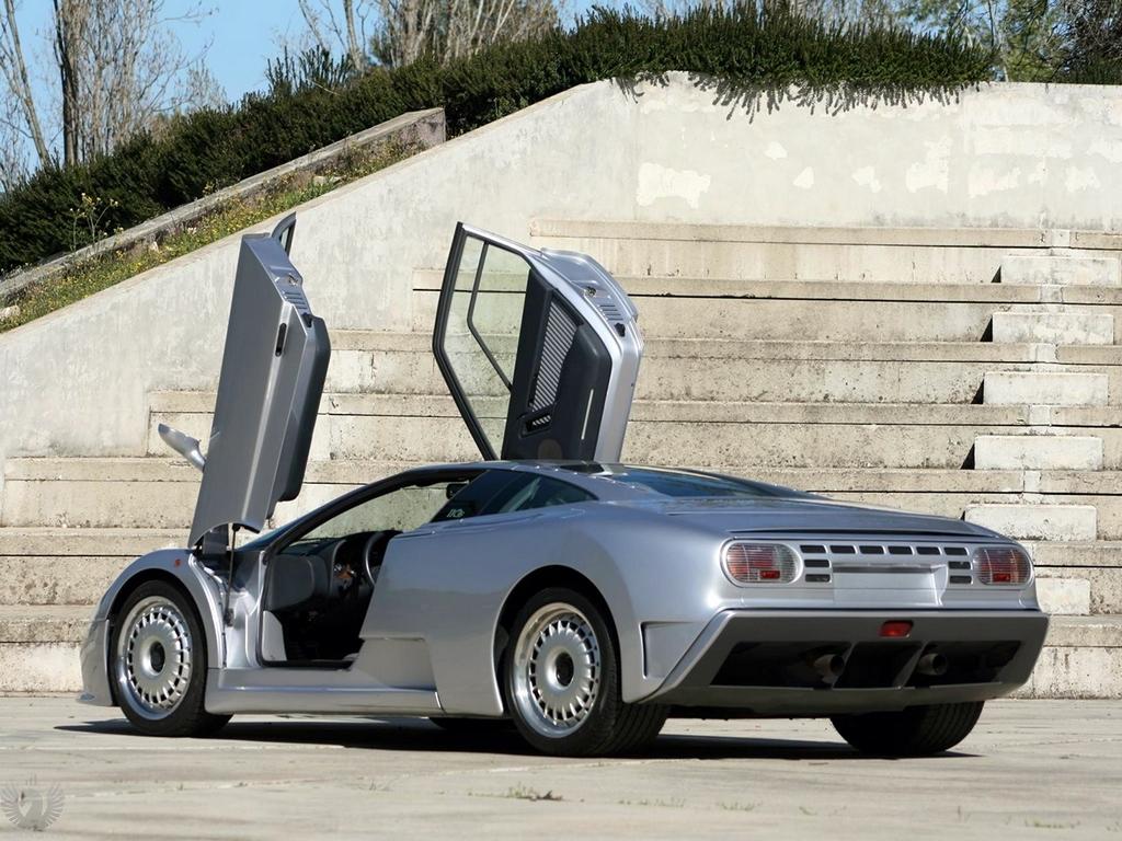 عکس Bugatti EB 110