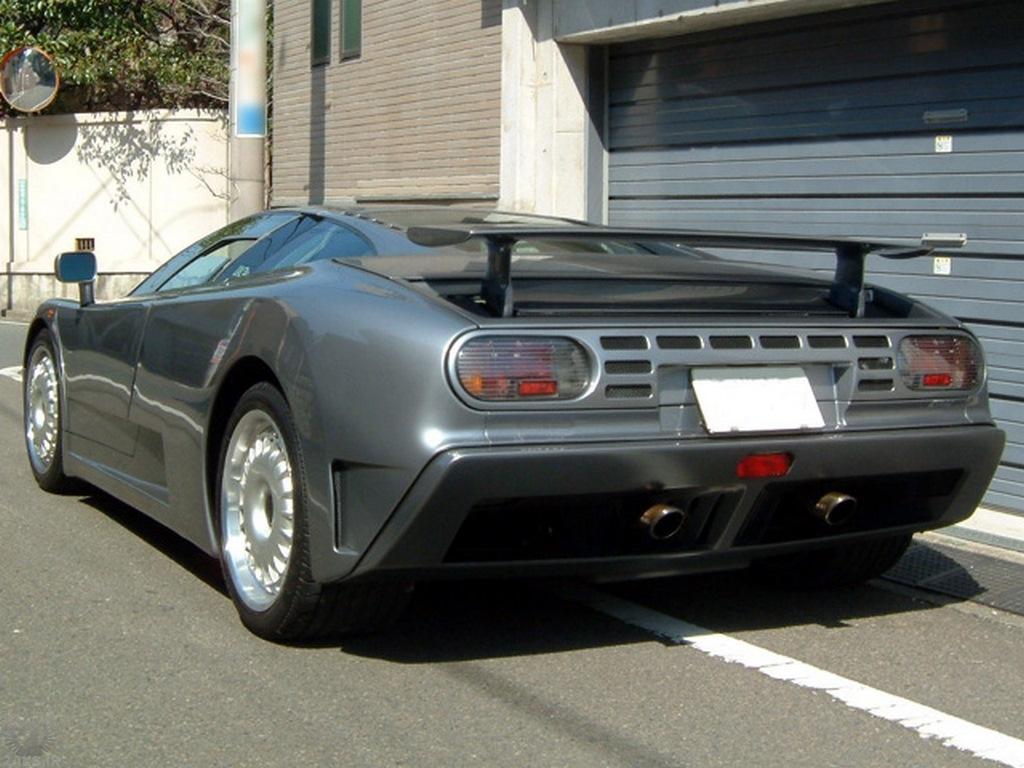 Bugatti EB 110 عکس