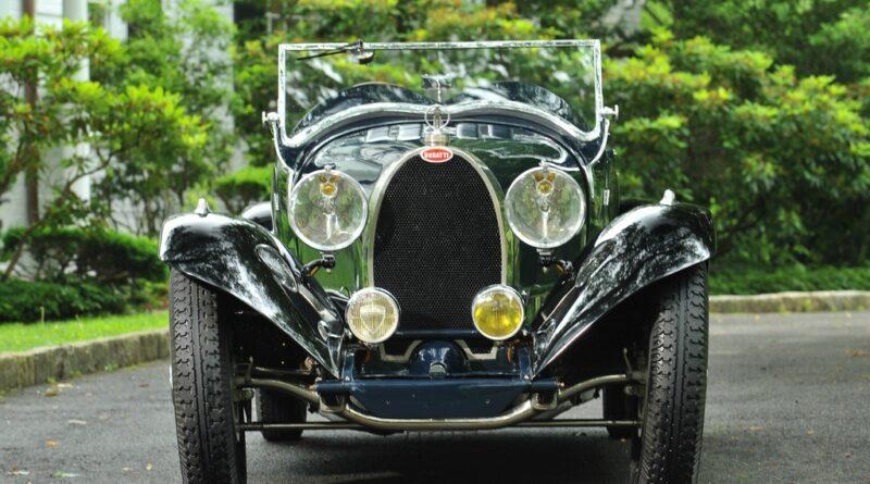 Bugatti Type 43 زیبا