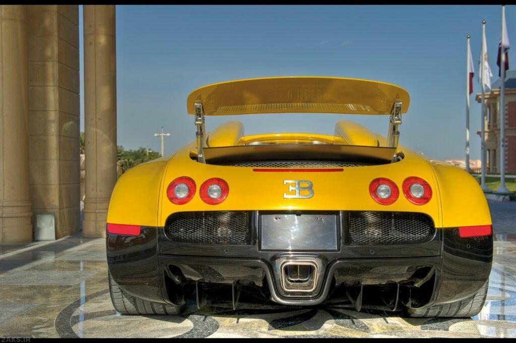 Bugatti Veyron زرد