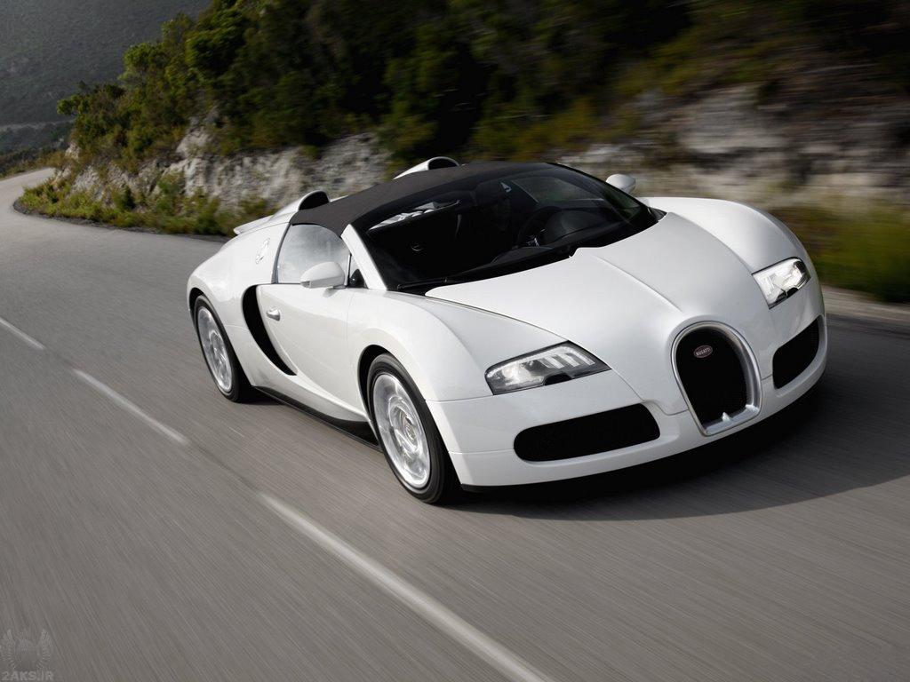 Bugatti Veyron سفید