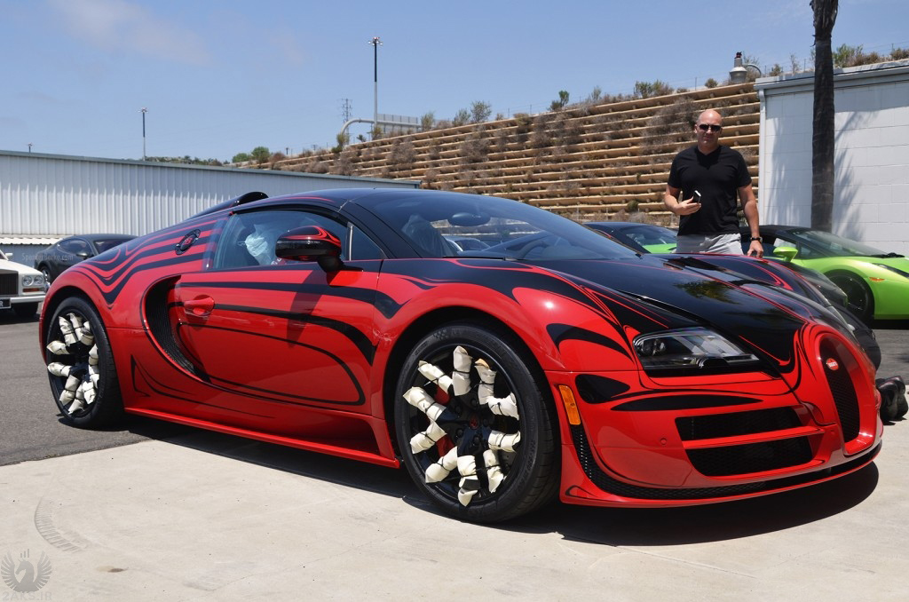 Bugatti Veyron قزمر