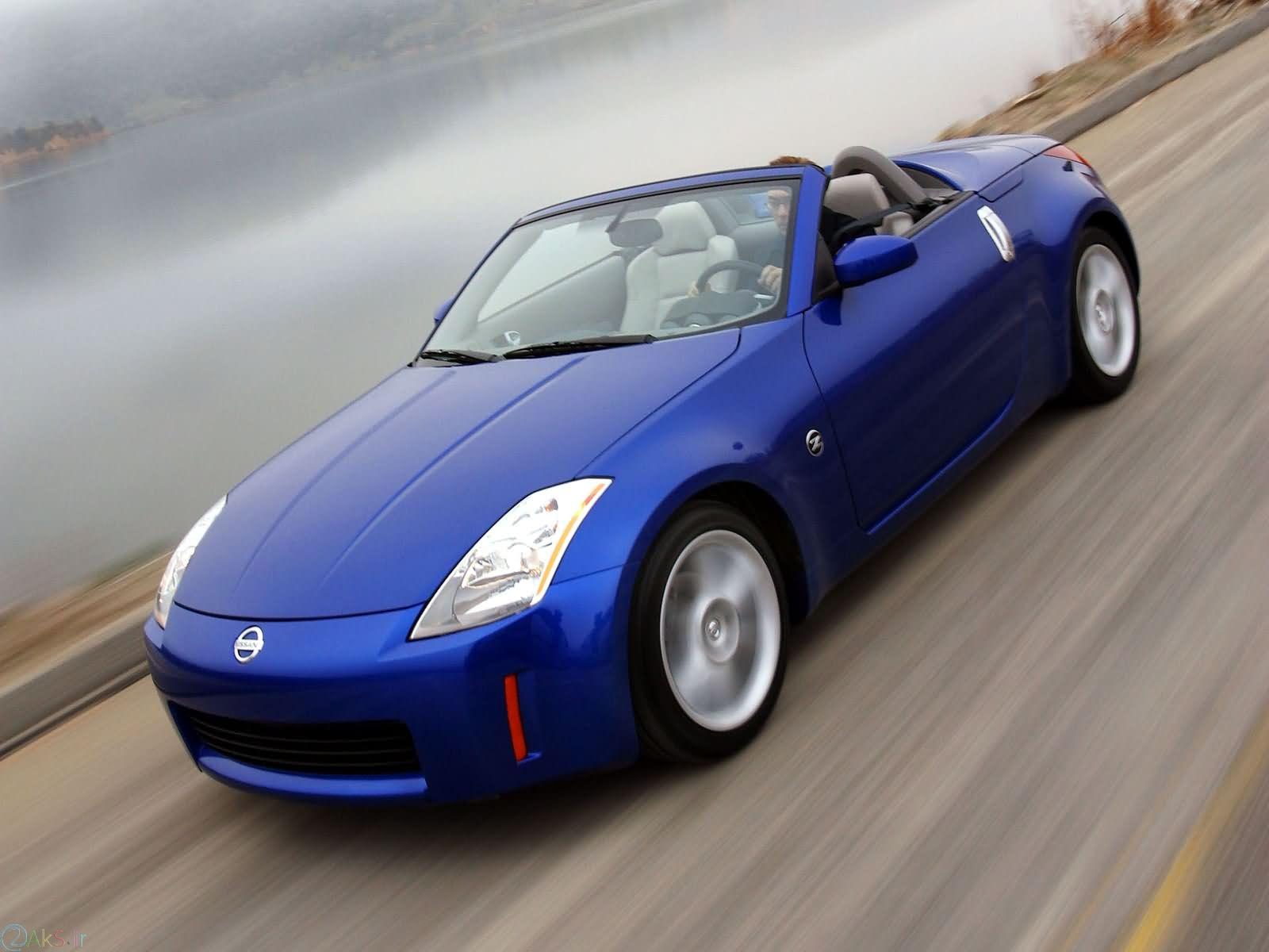 Nissan 350Z آبی