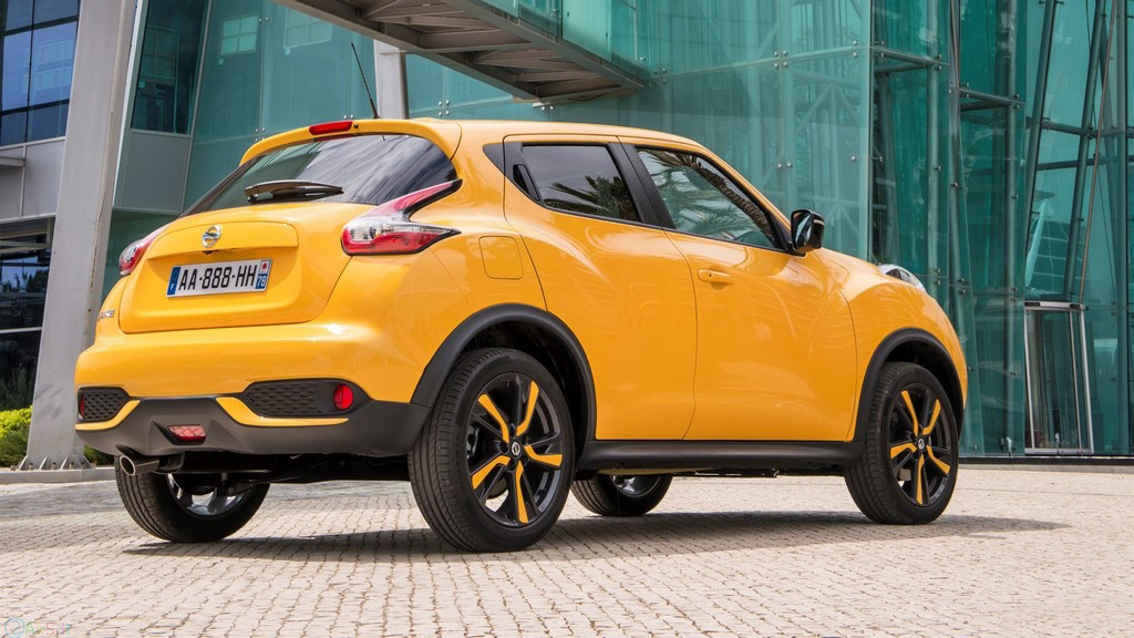Nissan Juke زرد