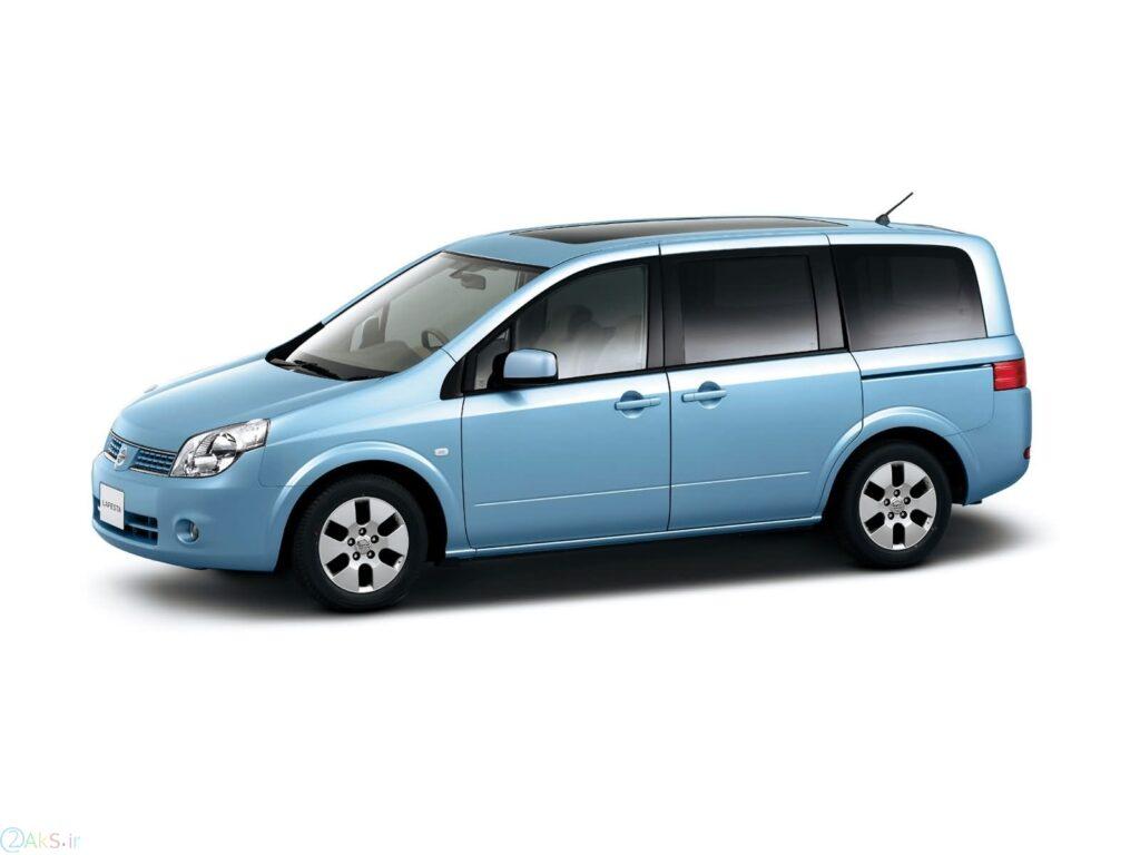 Nissan Lafesta آبی