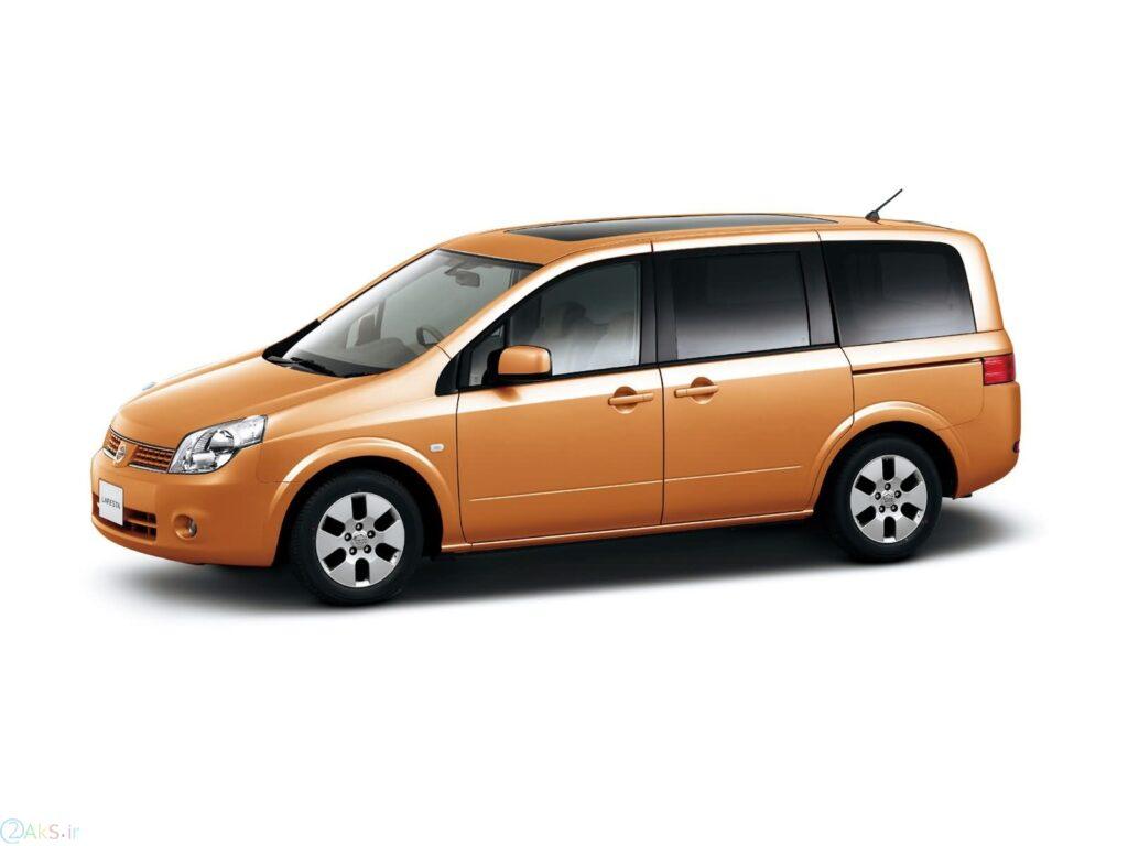 Nissan Lafesta نارنجی