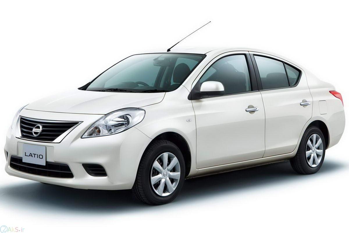 Nissan Latio سفید