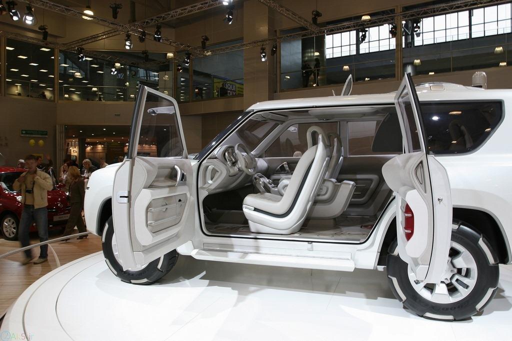 تصویر Nissan Terranaut