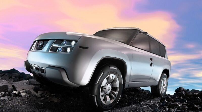 دانلود تصویر Nissan Terranaut