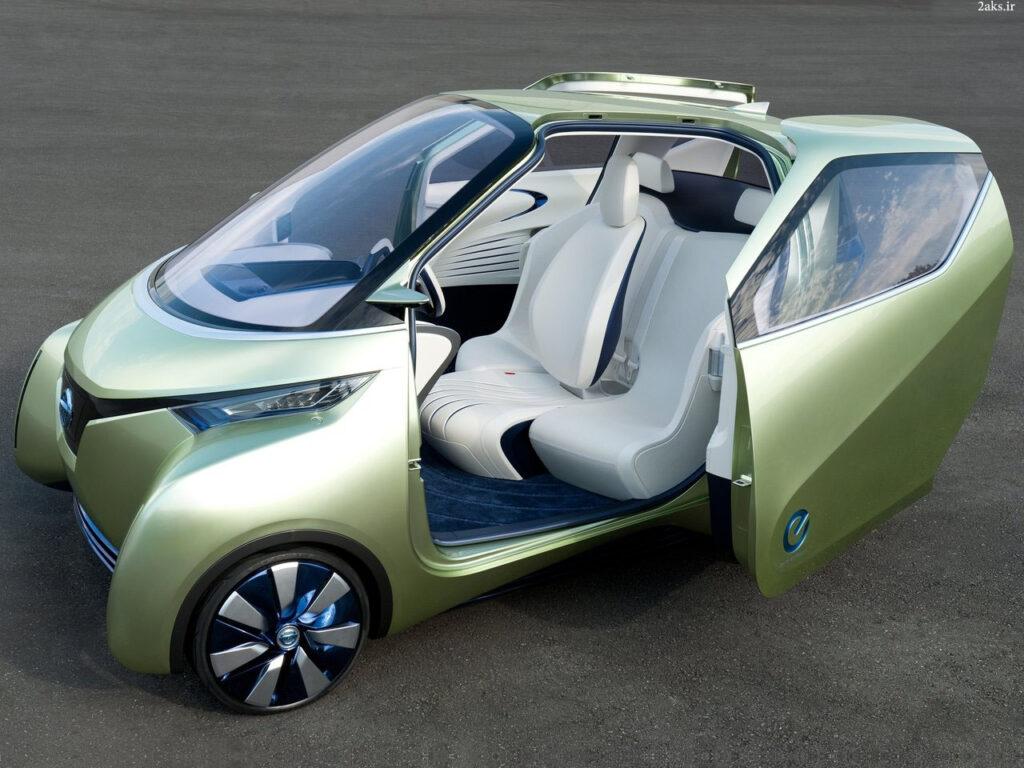 دانلود عکس Nissan Pivo 3