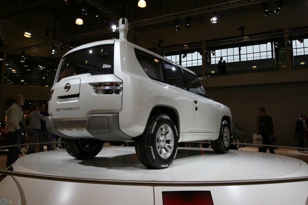 دانلود عکس Nissan Terranaut