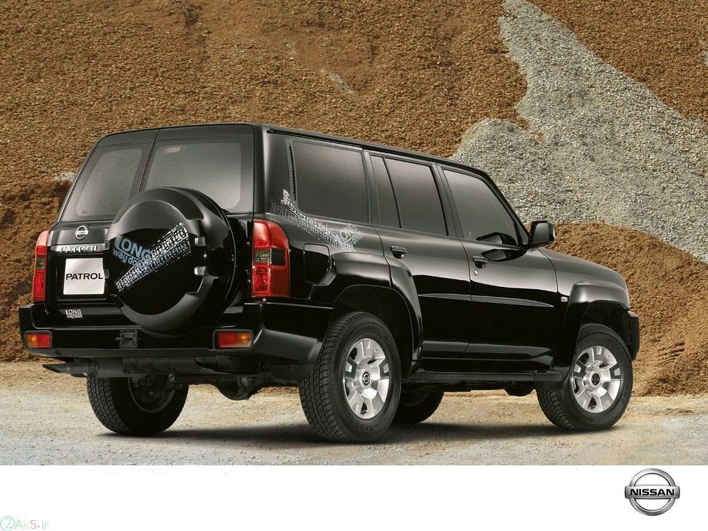 Nissan Patrol مشکی