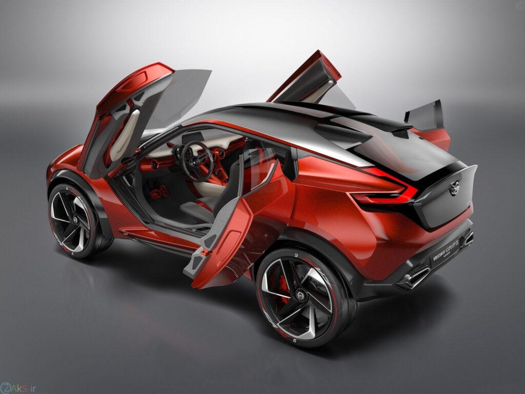 Nissan SUV Gripz قرمز